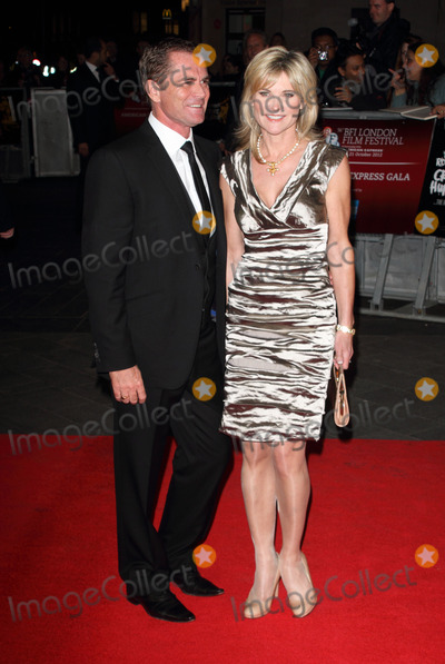 Grant Bovey Photo - London UK Grant Bovey and Anthea Turner    at the  BFI London Film Festival America Express Gala screening of  Crossfire Hurricane at the Odeon Leicester Aquare London 18th  October 2012  Keith MayhewLandmark Media