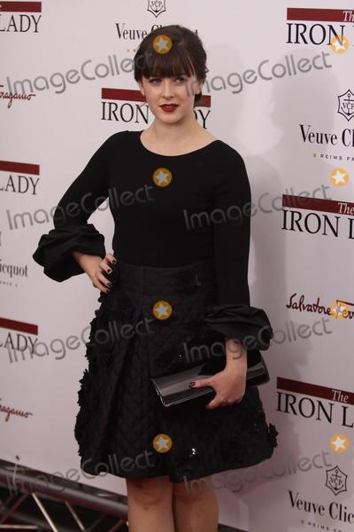 Alexandra Roache Photo - New York NY USA Alexandra Roach at  the New York Premiere of The Iron Lady held at the Ziefeld Theatre 13th December 2011Ben LarsonLandmark Media