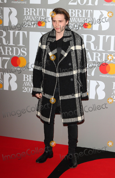 Brooklyn Beckham Photo - London UK Brooklyn Beckham at The BRIT Awards 2017 at The O2 Peninsula Square London on February 22nd 2017Ref LMK73-63022-230217Keith MayhewLandmark MediaWWWLMKMEDIACOM