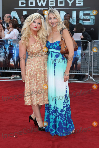 Ali Bastian Photo - London UK Sinead Kelly and Ali Bastian  at the UK Premiere of Cowboys  Aliens at The O2 North Greenwich London 11th August 2011 Evil ImagesLandmark Media