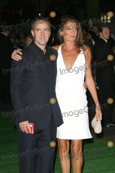 Annabelle Croft Photo - London TV presenter Angus Deayton and former tennis star Annabel Croft  at the premiere of new r film Wimbledon in London 20th September 2004