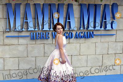 Alexa Davies Photo - London UK  Alexa Davies at The World Premiere of Mamma Mia Here We Go Again held at Eventim Apollo Hammersmith on Monday 16 July 2018Ref LMK392-J2320-170718Vivienne VincentLandmark Media WWWLMKMEDIACOM