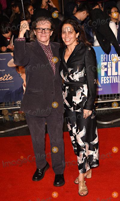 Stephen Woolley Photo - London UK Stephen Woolley and Elizabeth Karlsen  at LFF 2018  Colette - BFI Patrons Gala held at Cineworld Leicester Square London on Thursday 11 october 2018Ref LMK392 -J2745-121018Vivienne VincentLandmark Media WWWLMKMEDIACOM