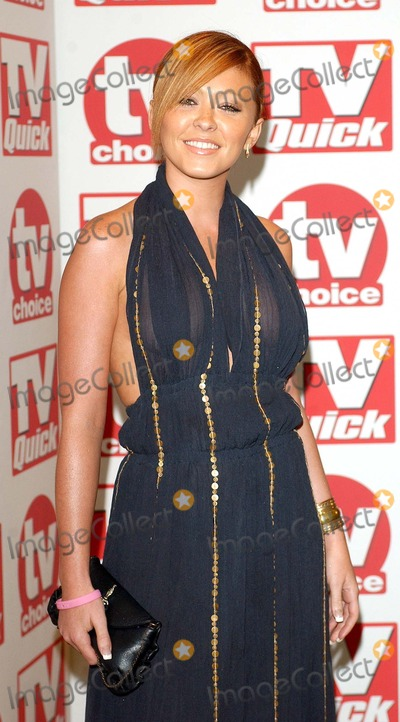 Atomic Kitten Photo - London Natasha Hamilton (Atomic Kitten star and Fran Cosgrove were engaged and have a son called Josh but split up Natasha had another child with another man but the couple have now re-united) at the TV Quick  TV Choice Awards 2005 held at the Crystal Suite at the Dorchester Hotel05 September 2005Eric BestLandmark Media