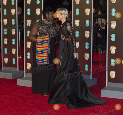 Andrea Riseborough Photo - London UK 180218Andrea Riseborough and Phyll Opoku-Gyimah at the EE British Academy Film Awards (BAFTA) held at Royal Albert HallRef LMK386 -MB1160-190218Gary MitchellLandmark Media WWWLMKMEDIACOM