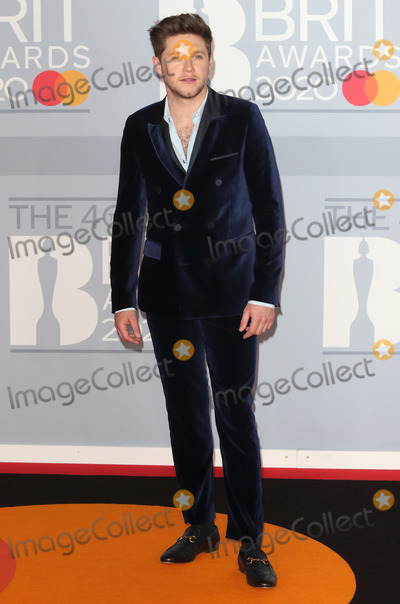 Niall Horan Photo - LondonUK   Niall Horan   at 40th Brit Awards Red Carpet arrivals The O2 Arena London 19th February 2020 RefLMK73-S2890-190220Keith MayhewLandmark MediaWWWLMKMEDIACOM