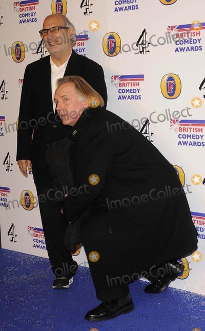 Alan Yentob Photo - Middlesex UK Alan Yentob and Rik Mayall at the British Comedy Awards 2011 held at Fountain Studios Wembley Park Drive 16th December 2011Can NguyenLandmark Media