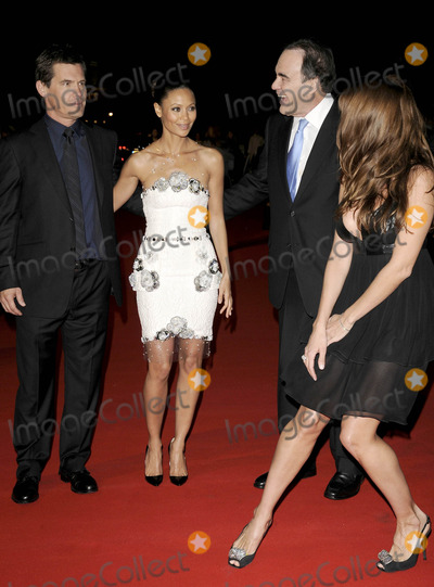 Rebecca Loos Photo - London UK Josh Brolin Thandie Newton Oliver Stone and Rebecca Loos at the W UK Premiere LFF Day 9 held at the Odeon West End in London 23rd October 2008Can NguyenLandmark Media