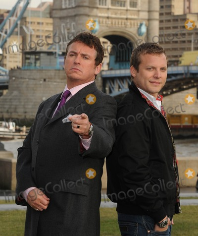 George Cole Photo - London UK Shane Richie and Lex Shrapnel pose to launch Fives remake of the popular 80s sitcom starring Dennis Waterman and George Cole at Tower Bridge13 JanuaryAli KadinskyLandmark Media