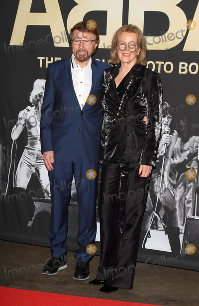 ABBA Photo - London UK Bjrn Ulvaeus and Anni-Frid Lyngstad at ABBA  The International Anniversary Party marking the 40th Anniversary of their Eurovision Victory and the launch of ABBA  The Official Photo Book at the Tate Modern London on April 7th 2014Ref LMK73-48091-080414Keith MayhewLandmark Media WWWLMKMEDIACOM