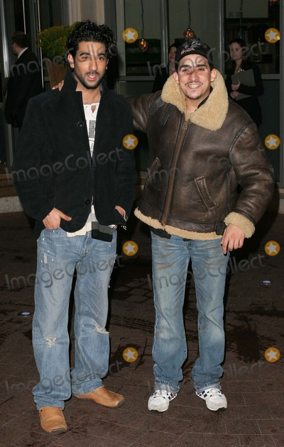 Nabil Elouhabi Photo - London Ray Panthaki and Nabil Elouhabi (Eastenders) at the Celebrity Screening of Team America held at the Soho Hotel11 January 2005Paulo PirezLandmark Media
