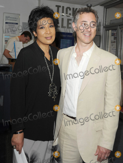 Anthony Fabian Photo - London UK Moira Stuart and Director Anthony Fabian at the UK premiere of Skin held at the Odeon West End Leicester Square central London  2nd July 2009Ali KadinskyLandmark Media