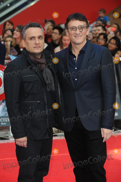 Anthony Russo Photo - London UK Anthony Russo and Joe Russo at Captain America Civil War UK Premiere at the Vue Westfield Shopping Centre London on April 26th 2016Ref LMK200-60234-270416Landmark Media WWWLMKMEDIACOM  V