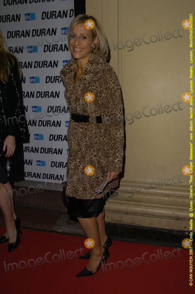 Emily Maitlis Photo - London UK Emily Maitlis at Duran Durans Red Carpet Massacre album launch party held at the Lyceum Theatre in London03 December 2007Can NguyenLandmark Media