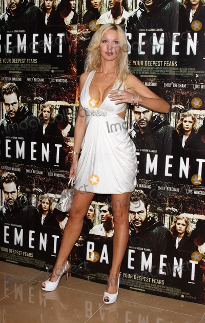Alicia Douvall Photo - London UK Alicia Douvall at the UK Premiere of The Basement held at the Mayfair Hotel in London 17th August 2010Keith MayhewLandmark MediaLandmark Media