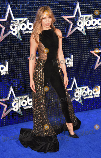Abbey Clancy Photo - London UK Abbey Clancy at The Global Awards held at Eventim Apollo Hamersmith London on Thursday 1 March 2018 Ref LMK392-J1601-020318Vivienne VincentLandmark Media WWWLMKMEDIACOM