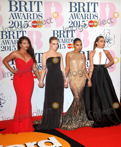 Jessie Nelson Photo - London UK Little Mix (L-R Jessie Nelson Perrie Edwards Leigh-Anne Pinnock and Jade Thirlwall) at The  Brit Awards Red Carpet Arrivals at 02 Arena London on 25th February 2015 RefLMK73-50560-260215 Keith MayhewLandmark MediaWWWLMKMEDIACOM