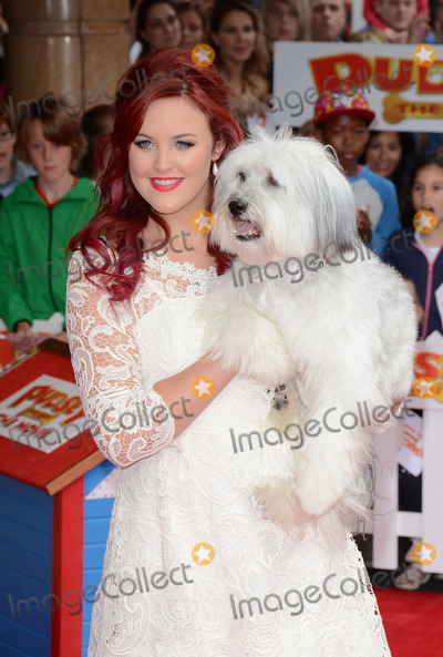 Ashleigh Butler Photo - London UK Ashleigh Butler and Pudsey at The World Premiere of Pudsey The Dog Movie at Vue West End Leicester Square London on 13th July 2014  Ref LMK392 -49053-140714Vivienne VincentLandmark Media WWWLMKMEDIACOM