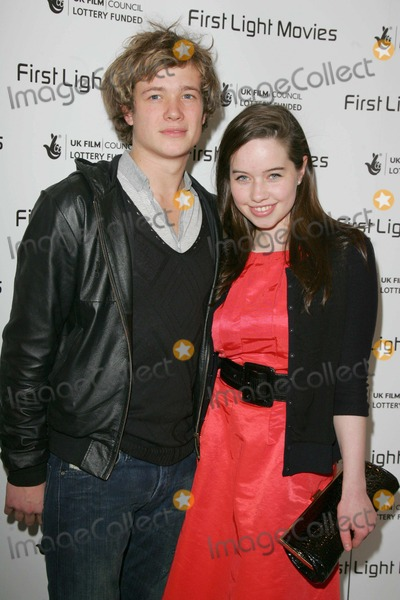 Anna Popplewell Photo - London UK   Ed Speleers (Eragon ) and Anna Popplewell (Narnia ) at the  First Light Film Awards  Odeon Leicester Square London 4th March 2008