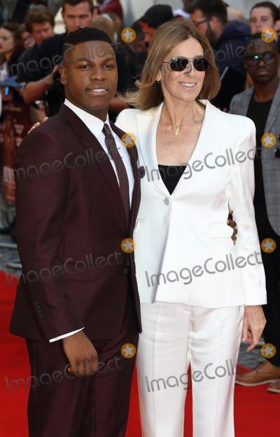 Kathryn Bigelow Photo - London UK John Boyega and Kathryn Bigelow at Detroit European Premiere at the Curzon Mayfair London on August 16th 2017Ref LMK73-J659-170817Keith MayhewLandmark MediaWWWLMKMEDIACOM