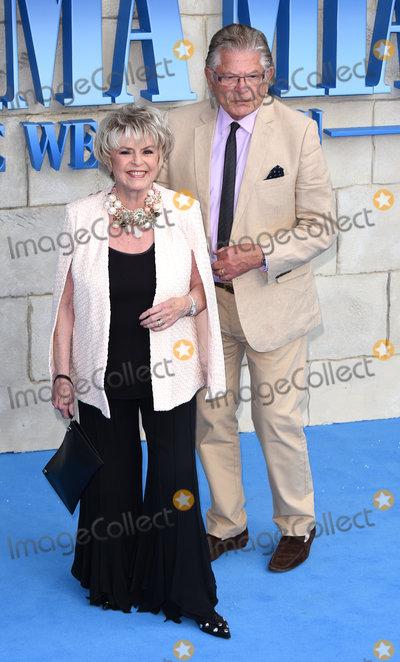 Gloria Hunniford Photo - London UK Gloria Hunniford and Stephen Way  at The World Premiere of Mamma Mia Here We Go Again held at Eventim Apollo Hammersmith on Monday 16 July 2018Ref LMK392-J2320-170718Vivienne VincentLandmark Media WWWLMKMEDIACOM