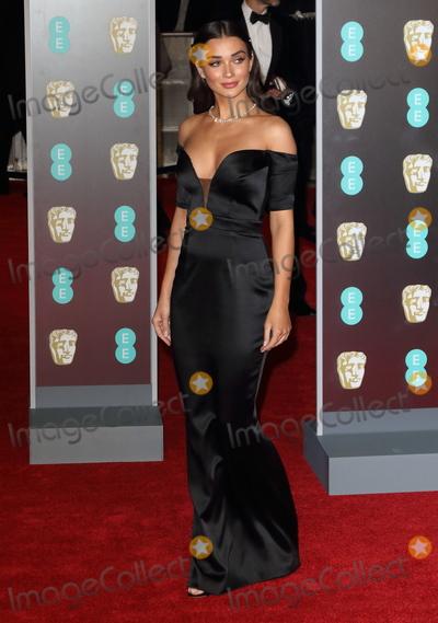Amy Jackson Photo - London UK  Amy Jackson at EE British Academy Film Awards 2018 - Red Carpet Arrivals at the Royal Albert Hall London on Sunday February 18th 2018 Ref LMK73 -J1591-190218Keith MayhewLandmark Media WWWLMKMEDIACOM