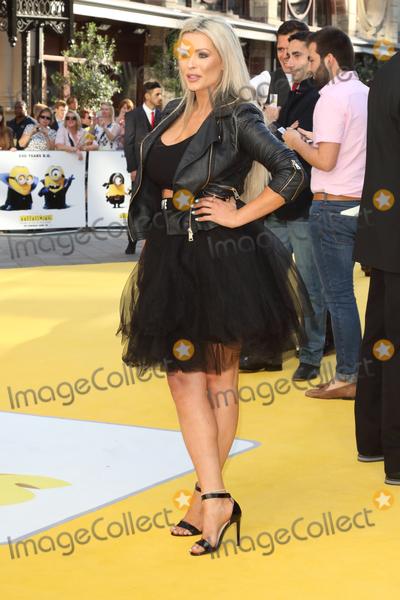 Nicola McLean Photo - London UK Nicola McLean at World Premiere of Minions at the Odeon Leicester Square London on June 11th 2015Ref LMK73-51449-120615Keith MayhewLandmark Media WWWLMKMEDIACOM