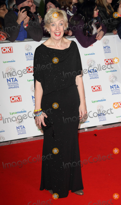 Julie Hesmondhaigh Photo - London UK Julie Hesmondhaigh   at the Red Carpet arrivals at the National Television Awards at the O2 Arena London on 22nd January 2014 RefLMK73-46450-230114 Keith MayhewLandmark MediaWWWLMKMEDIACOM