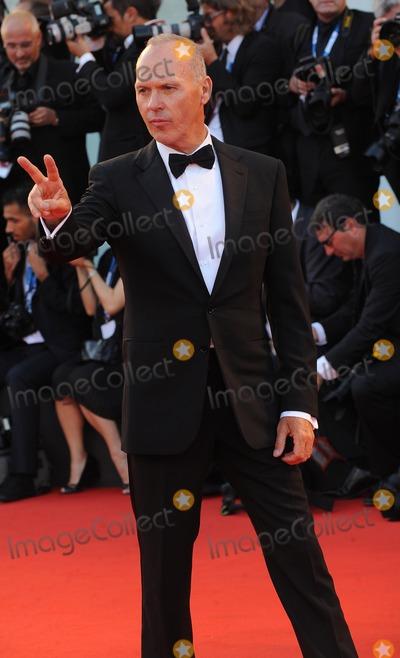 The BirdMan Photo - VeniceItaly  Michael Keaton  at the Birdman Premiere  71st Venice Film Festival Palazzo Del Cinema 27th August 20014 RefLMK200-49454-280814 Landmark Media WWWLMKMEDIACOM