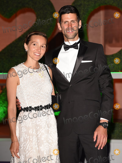 Novak Djokovic Photo - London UK Jelena Ristic Novak Djokovic at The Wimbledon Champions Dinner held at  Guildhall Gresham Street London on Sunday 15 July 2018Ref LMK392-J2309-160718Vivienne VincentLandmark Media WWWLMKMEDIACOM