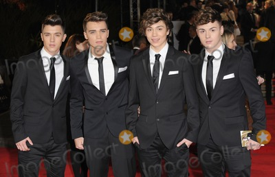 Jaymi Hensley Photo - London UK  231012(L to R) Jamie Hamblett Josh Cuthbert Jaymi Hensley and George Shelley of Union J at the Royal World Premiere of the film Skyfall held at the Royal Albert Hall in Kensington23 October 2012Landmark Media
