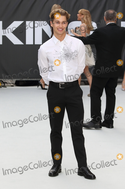 AJ Pritchard Photo - London UK AJ Pritchard at King of Thieves World Premiere at Vue West End Leicester Square London on Wednesday 12 September 2018Ref LMK73-J2595-130918Keith MayhewLandmark MediaWWWLMKMEDIACOM