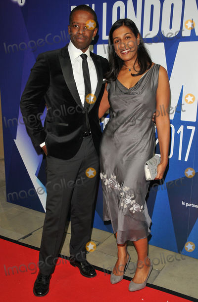 Adrian Lester Photo - London UK Adrian Lester and Lolita Chakrabarti at the 61st BFI London Film Festival Awards 2017 Banqueting House Whitehall London England UK on Saturday 14 October 2017Ref LMK315-J925-161017CAN NguyenLandmark MediaWWWLMKMEDIACOM
