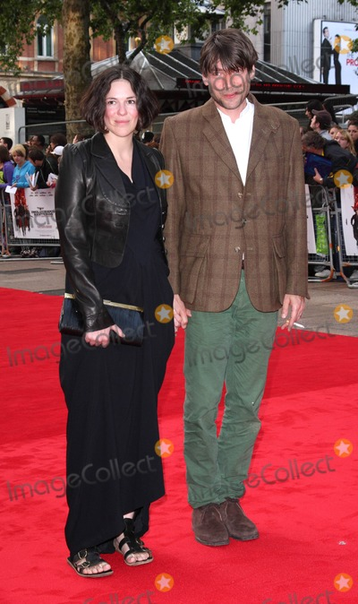 Alex James Photo - London UK Alex James (Blur) and wife Claire at the UK premiere of  Inglourious Basterds  Odeon Leicester Square London 23rd July 2009 Keith MayhewLandmark Media