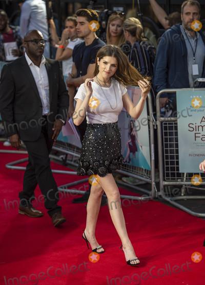 Anna Kendrick Photo - London UK Anna Kendrick at the UK Premiere of A Simple Favor at the BFI Southbank on the 17th September 2018 in London England UK  Ref LMK386-J2620-180918Gary MitchellLandmark MediaWWWLMKMEDIACOM