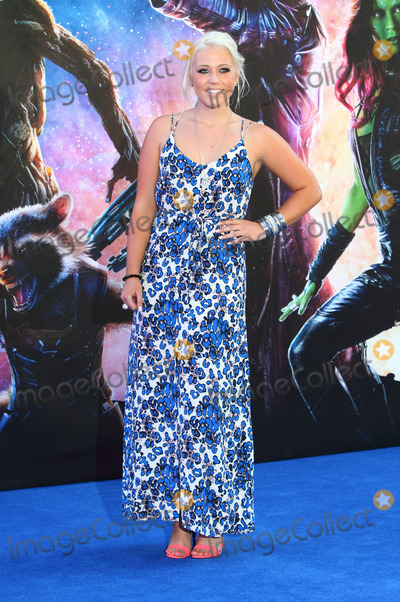 Amelia Lily Photo - London UK Amelia Lily at Guardians of the Galaxy European Premiere at the Empire Leicester Square London on July 24th 2014Ref LMK73-49183-250714Keith MayhewLandmark Media WWWLMKMEDIACOM