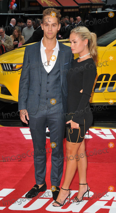Julius Cowdrey Photo - London UK Julius Cowdrey and Ella Willis    at Logan Lucky UK film premiere at the Vue West End Leicester Square London on 21st August 2017Ref LMK315-S595-220817Can NguyenLandmark MediaWWWLMKMEDIACOM