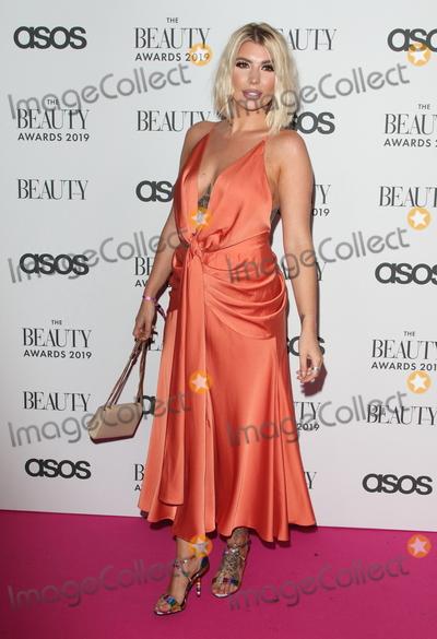 Pink Photo - LondonUK  Olivia Buckland    at  The Beauty Awards 2019 VIP Pink Carpet at City Central at the HAC Chiswell St London 25th November 2019RefLMK73-2625-261119Keith MayhewLandmark MediaWWWLMKMEDIACOM