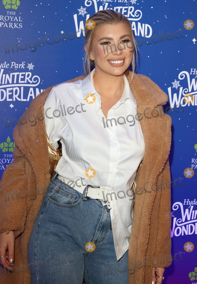 Olivia Buckland Photo - London UK Olivia Buckland at Winter Wonderland 2019 VIP Launch at Hyde Park London on November 20th 2019Ref LMK73-J5836-211119Keith MayhewLandmark MediaWWWLMKMEDIACOM