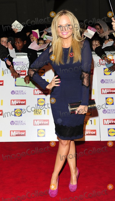Emma Bunton Photo - London UK Emma Bunton at the Pride Of Britain awards at Grosvenor House 29th October 2012SydLandmark Media