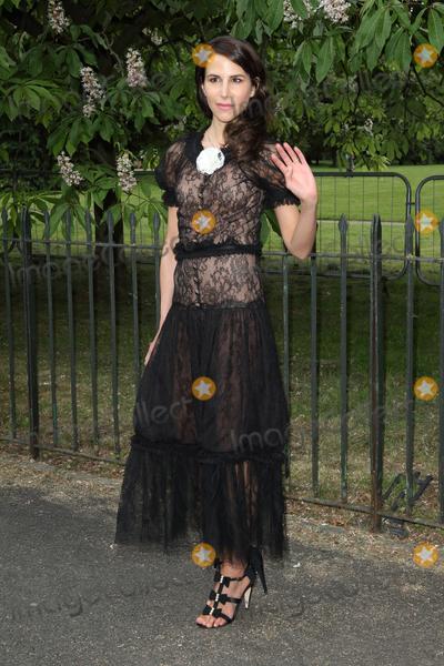 Caroline Sieber Photo - London UK  Caroline Sieber  at The Serpentine Gallery Summer Party at Kensington Gardens London 6th July 2016 Ref LMK73-60819-070716Keith MayhewLandmark Media WWWLMKMEDIACOM
