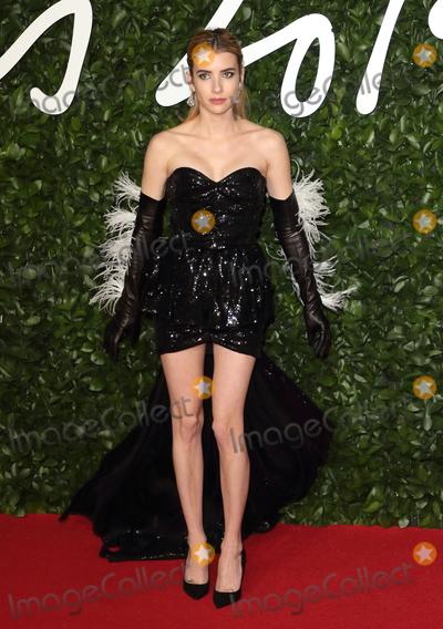 Emma Roberts Photo - London UK Emma Roberts at the Fashion Awards 2019 at Royal Albert Hall London December 2nd 2019 Ref LMK73-J5890-031219Keith MayhewLandmark MediaWWWLMKMEDIACOM