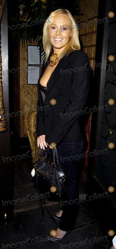 Nancy Lam Photo - London UK Michelle Dewberry at the Nancy Lams Inspirational Menu launch party held at Mahiki nightclub in London 4th July 2007Can NguyenLandmark Media