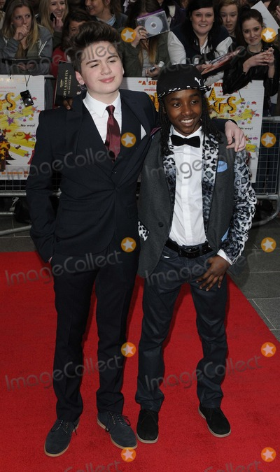 Akai Osei-Mansfield Photo - London UK Theo Stevenson  Akai Osei-Mansfield at  the  All Stars  UK film premiere Vue West End cinema Leicester Square London England UK Can NguyenLandmark Media