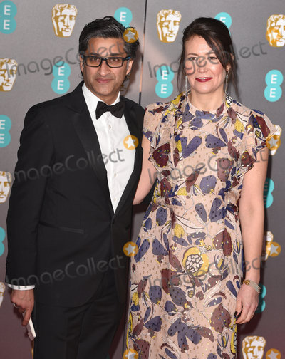 Asif Kapadia Photo - London UK Asif Kapadia Victoria Harwood  at the 73rd British Academy Film Awards held at The Royal Albert Hall South Kennsington on Sunday 2 February 2020 Ref LMK392-S2827-040220Vivienne VincentLandmark Media WWWLMKMEDIACOM