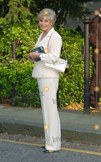 Angela Rippon Photo - London Angela Rippon at Sir David Frosts Annual Summer Party at Sir Davids Chelsea home6 July 2004
