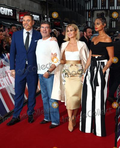 Alesha Dixon Photo - London UK David Walliams Simon Cowell Amanda Holden Alesha Dixon  at Britains Got Talent photocall held at The London Palladium Argyll Street London on Sunday 29 January 2017Ref LMK73-62720-290117Keith MayhewLandmark Media  WWWLMKMEDIACOM