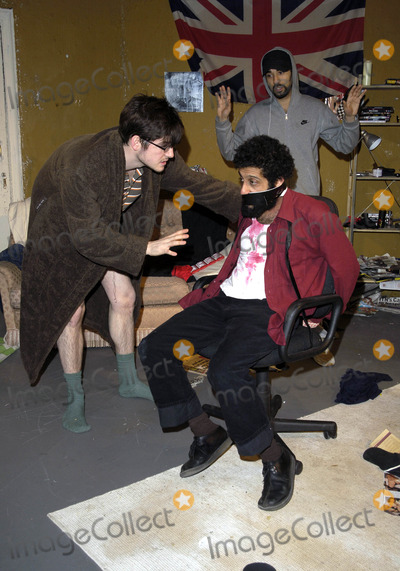 Adeel Akhtar Photo - London UK James Alexandrou Ray Panthaki and Adeel Akhtar star in the Yaller Skunk Theatre production In My Name at the Old Red Lion Theatre in Islington London25 March 2008Can NguyenLandmark Media
