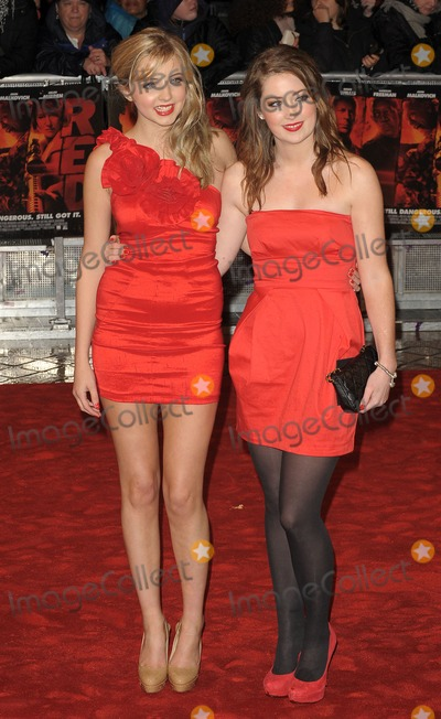 Alice Barlow Photo - London UK   Alice Barlow and Beth Kingston at the European Premiere of the film Red held at the Royal Festival Hall on the South Bank29 October 2010SydLandmark Media