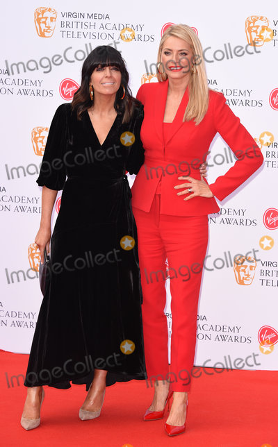 Claudia Winkleman Photo - London UK  Claudia Winkleman Tess Daly at The British Academy Television Awards  2019held at  Festival Hall Belvedere Road London on Sunday 12 May 2019  Ref LMK392 -J4880-130519Vivienne VincentLandmark Media WWWLMKMEDIACOM